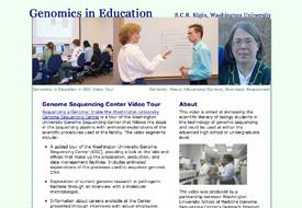Tom Elgin: Genomics in Education